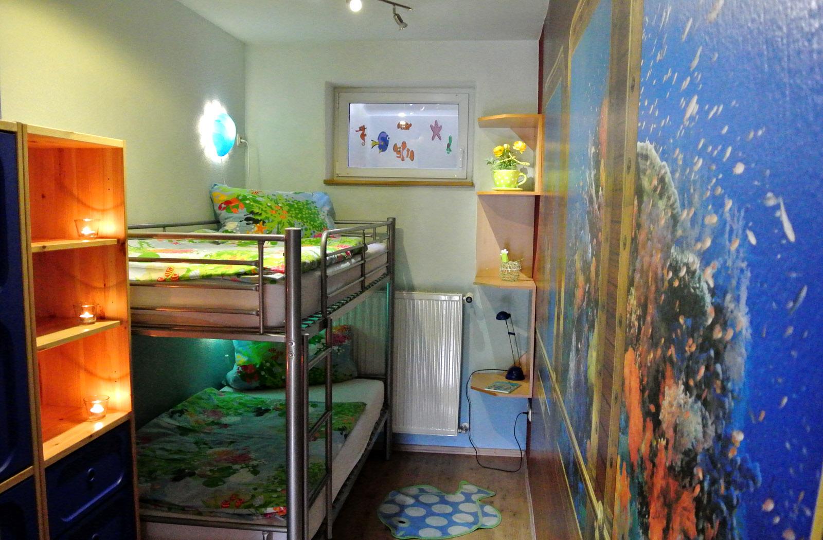 Schlafzimmer 2 - Ferienwohnung Haus \'Sinn\'-lichkeit